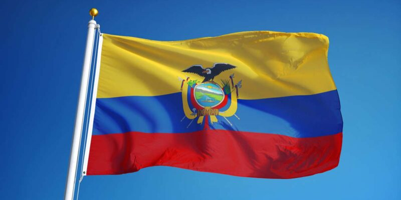 Bandera Del Ecuador